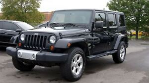 2013 Jeep WRANGLER UNLIMITED SAHARA * 4X4 * AUTO * 4 DOOR