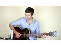 Professional Acoustic/Electric Guitar Lessons in Your Home (Beginner - Advanced)