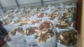Firewood logs 1 ton bags of fire wood logs BARGAIN