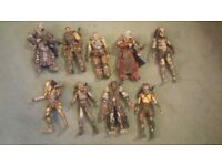 Original Neca figures, Predators, Gears of war