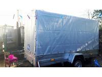 Brand new trailer with cover 750 kg 1450F