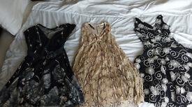 3 x womens size 10 dresses