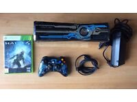 RARE XBOX 360 SUPER SLIM HALO 4 LIMITED EDITION GAMING CONSOLE