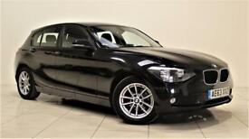 BMW 1 SERIES 1.6 116D EFFICIENTDYNAMICS 5d 114 BHP + 1 OWNER + (black) 2013