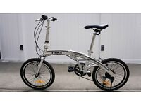 Trinx classic folding bike