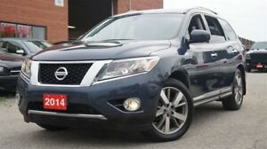 2014 Nissan Pathfinder Platinum, Low KMs, 4x4, Navi, 360 Camera,