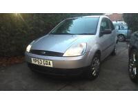 2003 Ford Fiesta Finesse 1.2 16v Mk6 **BARGAIN**