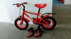 Fireman Sam 12'' bike 🚲🚲