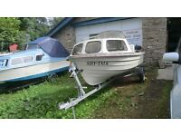 MOREBAS NORWEGEN MADE 15FT FISHING BOAT WITH 40HP MARINER OUTBOARD