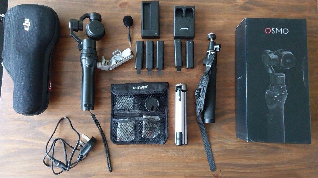 DJI OSMO Handheld gimbal, Zenmuse x3 4k camera