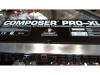 COMPOSER PRO-XL MODEL MDX2600, FULL 6 MONTHS WARRANTY
