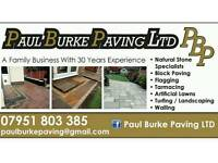 Paul Burke paving Ltd. Patio & Driveway installation