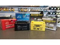 Motorcycle Batteries (Brand New) starting at just £19.99! Delivery available!