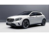 Mercedes GlA AMG alone