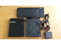 ASUS EeeBox EB1033 - 2GB RAM 320GB HDD Mini Desktop PC + Logitech K400r Keyboard