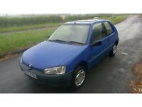 Peuguot 106 XN Independence - Very Low Mileage!