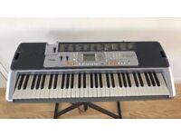 Casio Key Lighting Keyboard LK-110 complete with box and instruction manual and songbook