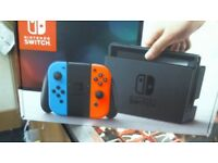 NINTENDO SWITCH BOXED