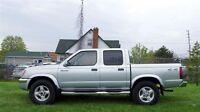2000 Nissan Frontier Crew Cab 4x4 Safety+Etest