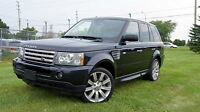 2009 Land Rover Range Rover Sport Supercharged Navigation