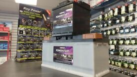 Car batteries from £43.99 (Brand new) Delivery Available! - Battery Store Bangor