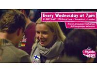 Mundo Lingo: FREE Language Socials in Shoreditch