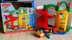 Fisher Price Little People - Racin' Ramps Garage