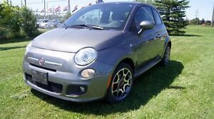 2012 Fiat 500 SPORT LEATHER SUNROOF 5 SPEED MANUAL