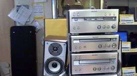 SONY HI-FI SYSTEM COMES WITH 6 MONTH WARRANTY