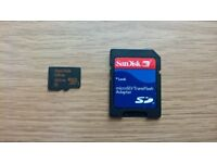 SanDisk Ultra 200GB microSD & SD Card Adapter Card CAN POST/DELIVER