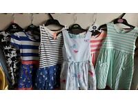Girls Summer Dresses Immaculate Condition