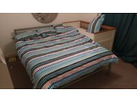 Ikea bed double bed frame + extras *FREE TO COLLECT*