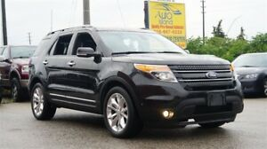 2015 Ford Explorer LIMITED, 4X4, 7 Pass, Navi, Rear Cam, Leather