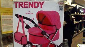 TRENDY KIDS DOLL PRAM