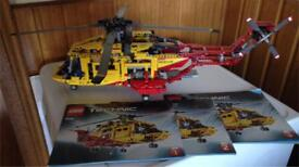 Lego Helicopter 9396