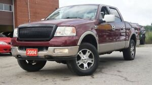 2004 Ford F-150 XLT Lariat, Leather, Sunroof, Alloy, Heated Seat