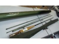 River & stream 4 piece fly rod, Comes in tube, 6 months warranty