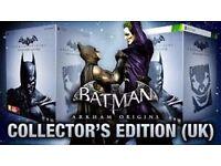 Brand New & Boxed, Batman & Joker Arkham Origins Collector's Xbox 360 Collector's Edition
