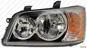 Head Light Driver Side Toyota Highlander 2001-2003