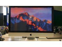 """Apple iMac 27"""", Mid 2011 Model, Intel i5 2.7HGz, 8GB RAM, 128GB SSD"""