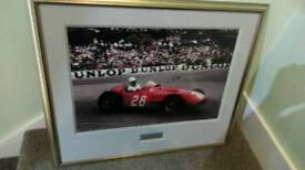 Signed picture of Sterling Moss