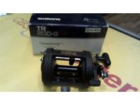 SHIMANO TR 200-G FISHING REEL, BOXED, 6 MONTHS WARRANTY