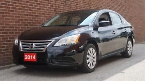 2014 Nissan Sentra S, Low KMs, BLUETOOTH, Sport Mode