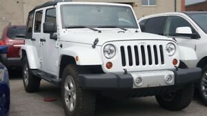 2013 Jeep WRANGLER UNLIMITED SAHARA, LOW KMs, 4X4