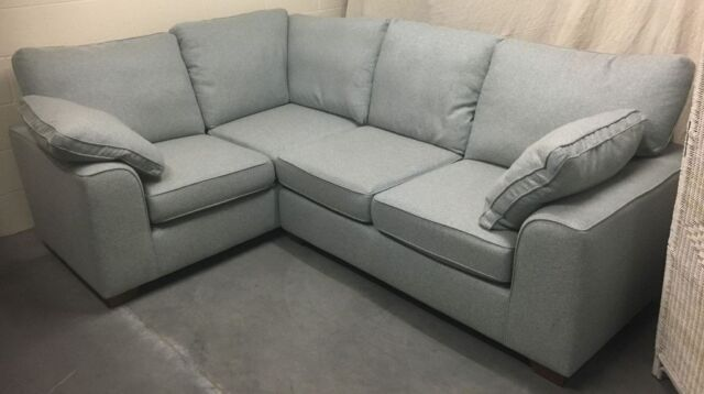 Peachy Ms Nantucket Extra Small Corner Sofa Skye Duck Egg Grey Rrp 1799 In Stockport Manchester Gumtree Pdpeps Interior Chair Design Pdpepsorg