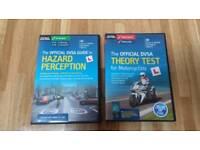Motorbike Theory & Hazard Perception dvd-roms (2018)
