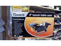 "POWER G 8"" BENCH TABLE SAW"