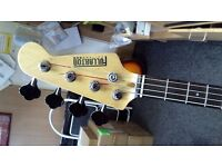 FULLARTON GUITARS USA (4 string bass)