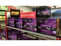 Van batteries (Brand New) 10% off in store!
