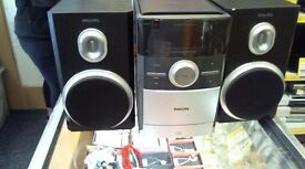 PHILLIPS HI-FI SYSTEM COMES WITH 6 MONTHS WARRANTY
